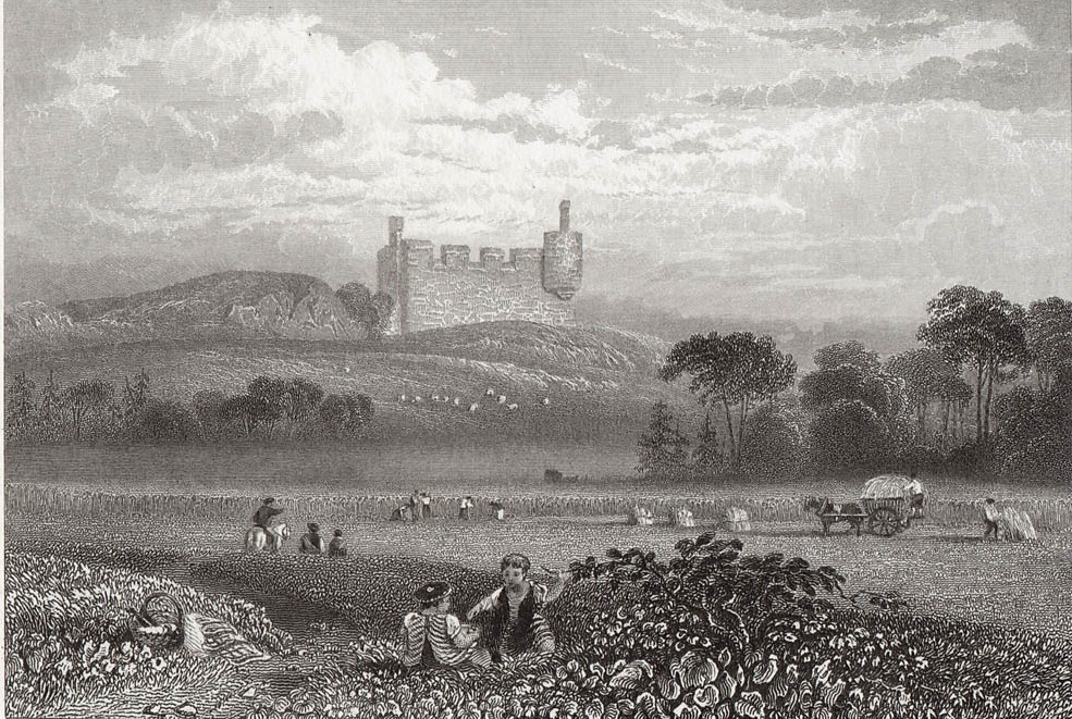 Hume Castle Berwickshire