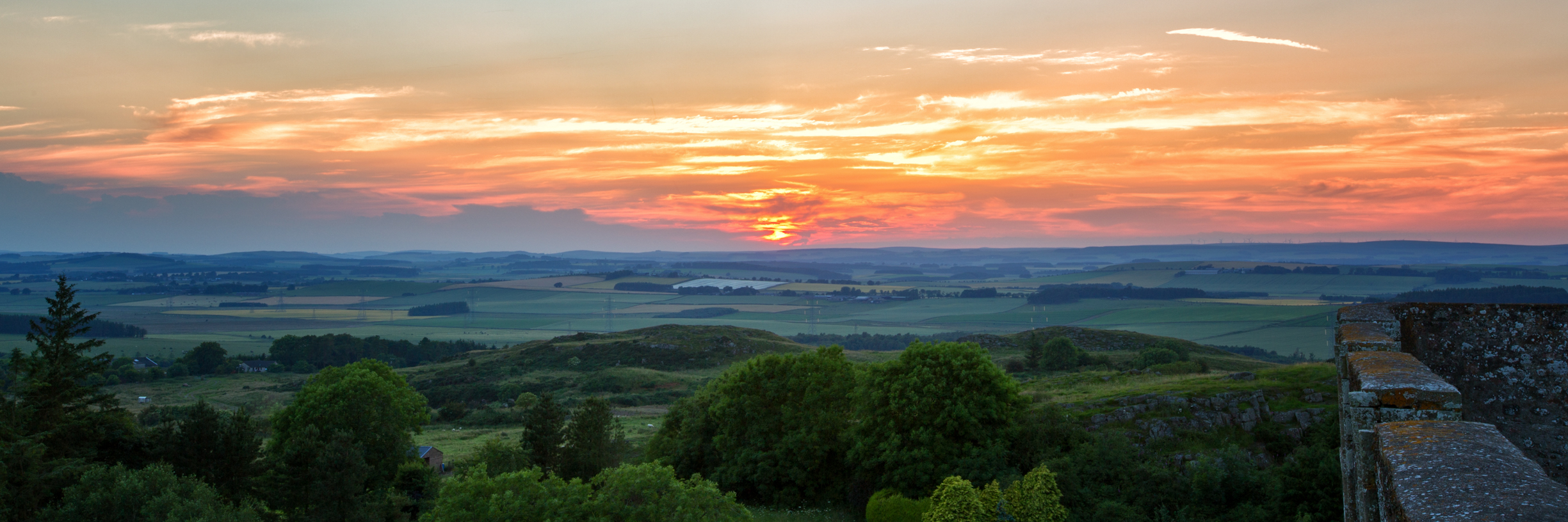 Sunset from Castle Walls